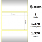 Zebra Etiketter Z-Select 2000D 76x51mm 12-Pack