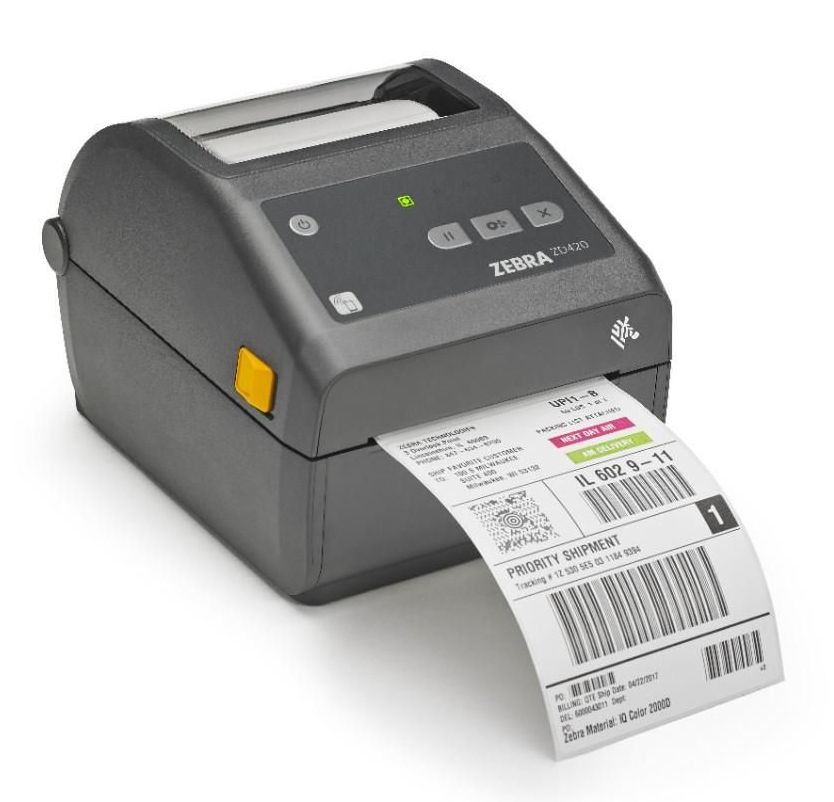 Etikettskrivare: Zebra ZD420d Etikettskrivare för fraktetiketter, adressetiketter ...